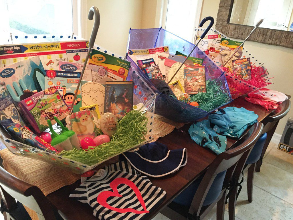 Beachbody, easter basket, andrea crowder, healthy recipes, no candy, stay at home mom